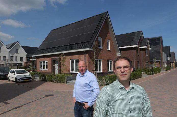 Bewoners van Veenendaal-Oost Joost Straat (rechts) en Bas Verweij.