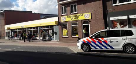 Politie vraagt om camerabeelden van overval goudinkoop Doetinchem