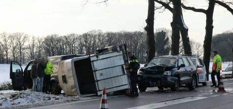 Pony overleeft crash in trailer bij Heeten