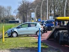 Veel schade en gewonde bij ongeval in Oudenbosch