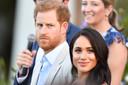 Harry et Meghan, lors de leur visite en Afrique du Sud, le 24 septembre 2019.