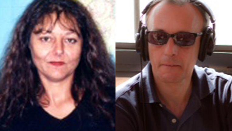 Foto's verstrekt door Radio France International met links Ghislaine Dupont en rechts Claude Verlon. Beeld ap