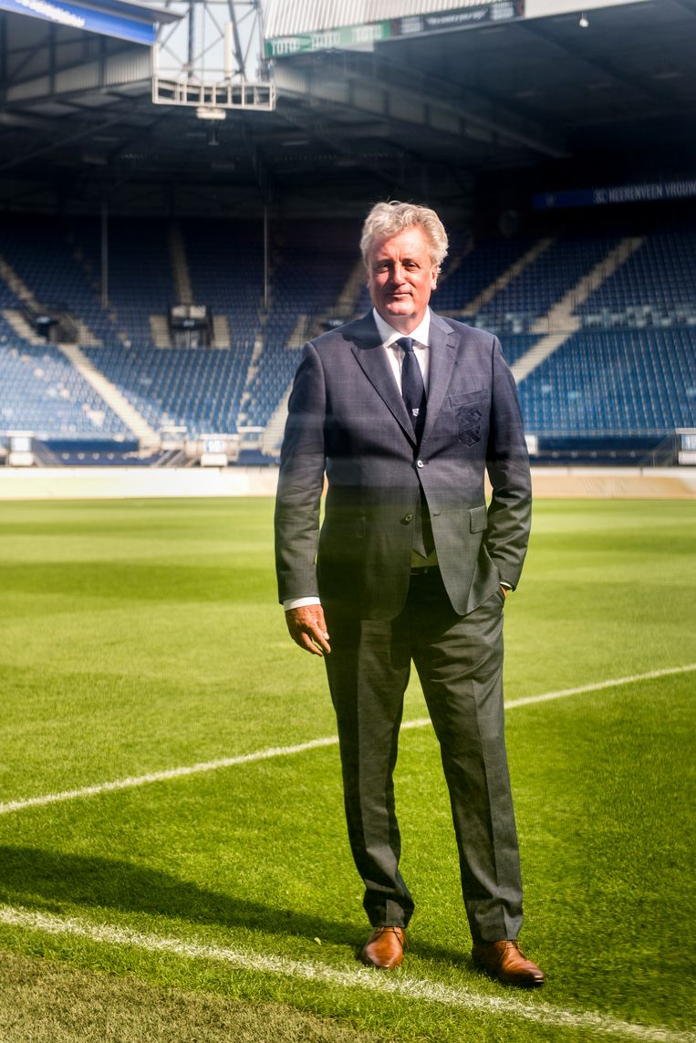 Cees Roozemond, financieel directeur van SC Heerenveen. Beeld Eva Faché