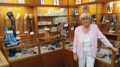 """Madamme Plasman (85) sluit na zestig jaar oudste winkel van Herentals. """"Vanaf oktober ga ik genieten van het 'goei' leven"""""""