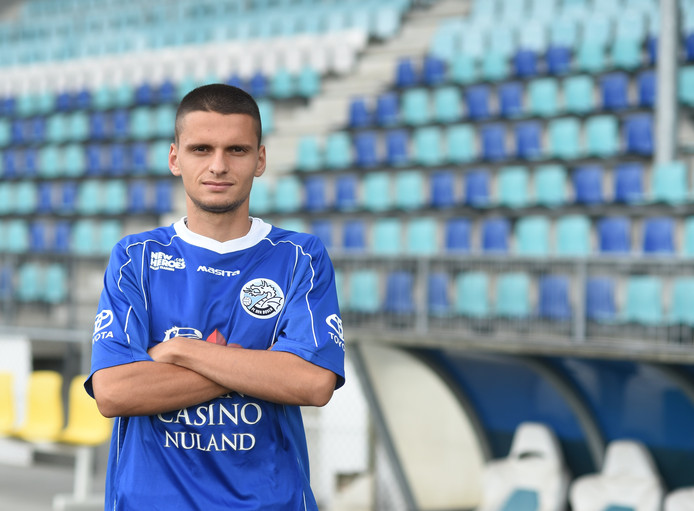 Albin Gashi traint wellicht woensdag al mee in De Vliert.