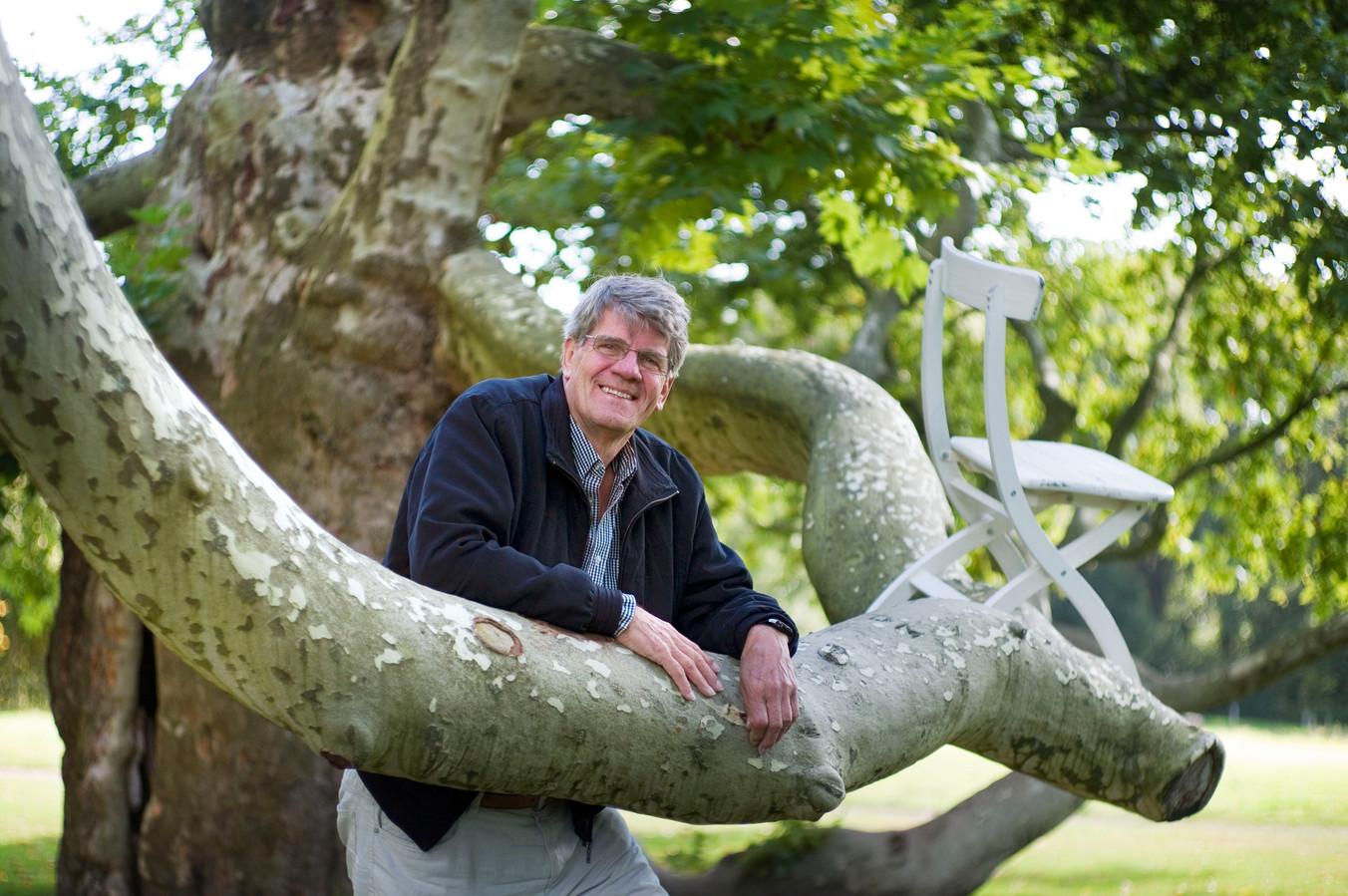 Henk Hekman, scheidend voorzitter van de Gelderman Stichting, in het Kalheupink Park dat hem zo na aan het hart ligt.