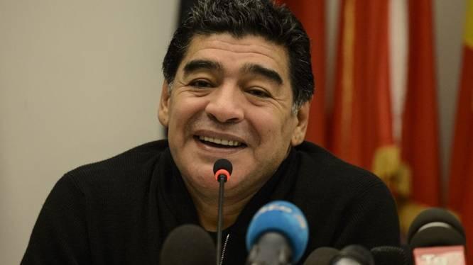 Maradona naar WK als tv-analist