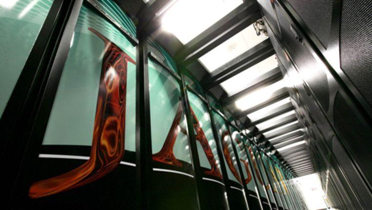 De Jaguar van Cray, de krachtigste supercomputer ter wereld. Foto AP Beeld
