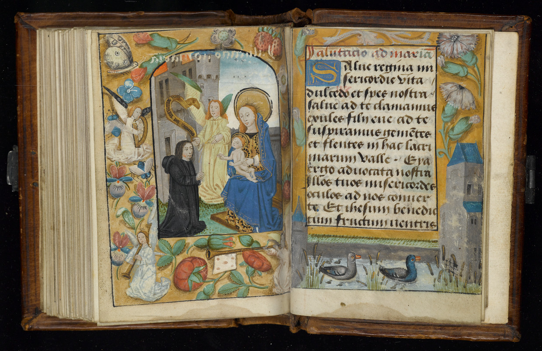 Het getijdenboek, West-Vlaanderen, rond 1500.   Beeld Allard Pierson Museum