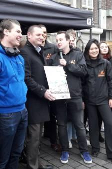 Studenten in Den Bosch zijn het beu: 'Gemeente doe wat aan die woningnood'