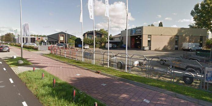 Het bestaande bedrijventerrein Putkop in Harmelen.