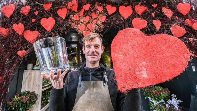 Vincent Docquir is helemaal klaar voor valentijn.