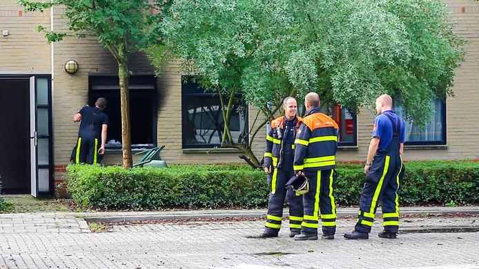 Vermoedelijk stichtte een 27-jarige bewoner van Jan Wierhof brand in zijn kamer.