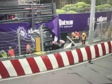 Horrorcrash in GP van Macau: Sophia Floersch heeft breuk in haar rug
