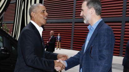 Obama op bezoek bij Spaanse koning Felipe