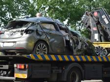 Auto slaat over de kop op A58 bij Sint Willebrord, bestuurder lichtgewond
