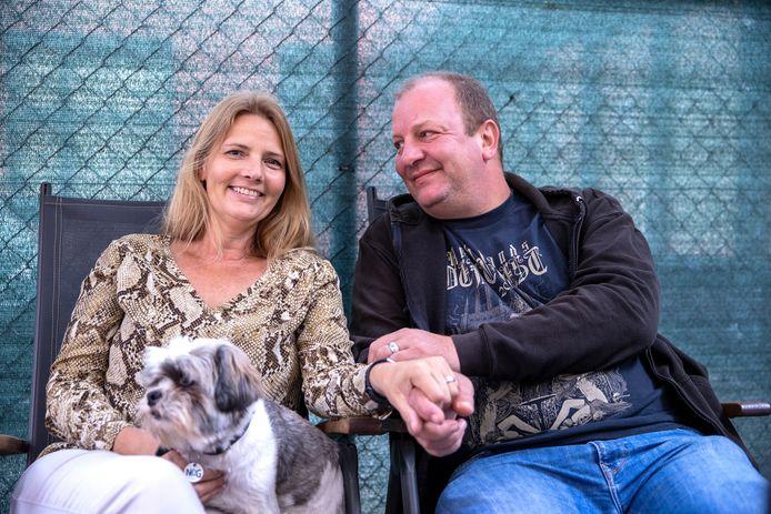 Sharon en Richard Theuws gaan al jaren samen naar festivals.
