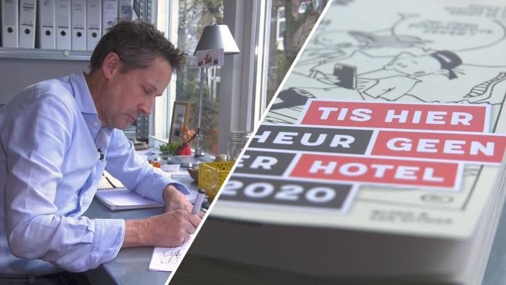 Cartoonist Gerrit maakt strips voor kalender over pubers