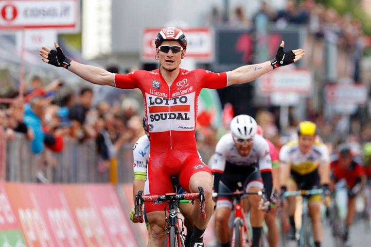Greipel wint in de Giro Beeld anp