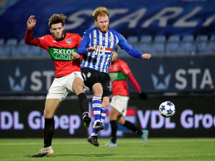 NEC geeft bekersucces goed vervolg tegen FC Eindhoven