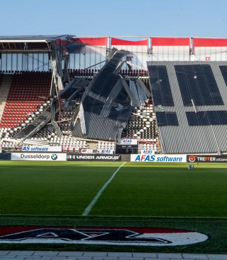 Onderzoeksraad start onderzoek naar instorten dak AZ-stadion