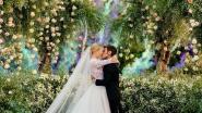 's Werelds bekendste influencer Chiara Ferragni geeft haar jawoord in 4 verschillende trouwjurken