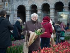 100.000 tulpen op het Astridplein