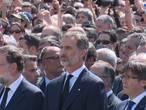 Spanje rouwt gezamenlijk om terroristische aanslag