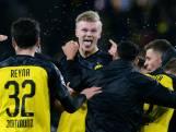 Prachtgoal Haaland helpt Dortmund aan zege tegen PSG