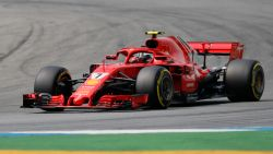 LIVE F1. Vettel terug eerste, einde wedstrijd voor Ricciardo