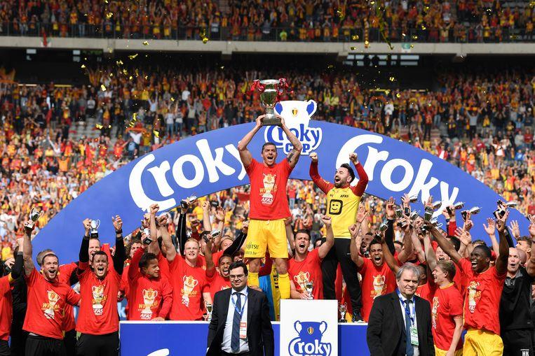 KV Mechelen won vorig seizoen de Beker van België