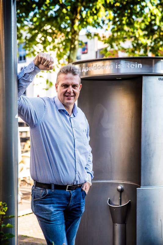 Marco Schimmel uit Apeldoorn is de bedenker van de Urilift.