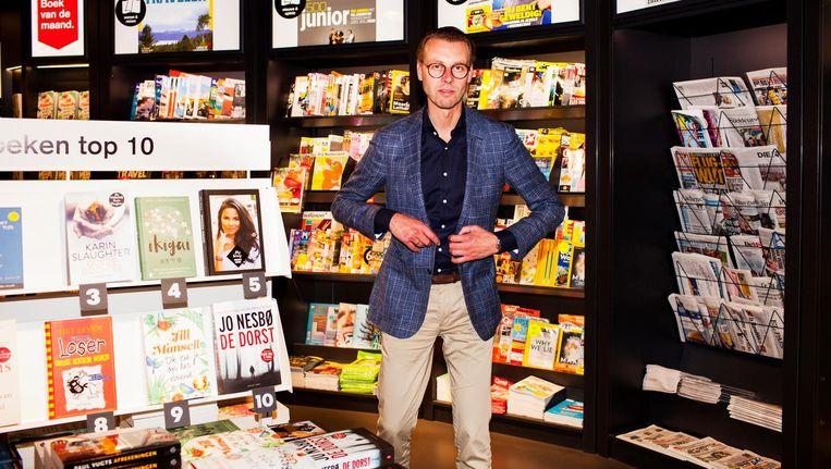 Commercieel manager van AKO, Dieter Klein Nagelvoort: 'De focus ligt op high traffic' Beeld Renate Beense