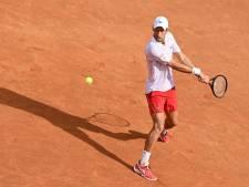 Novak Djokovic moet diep gaan in Rome