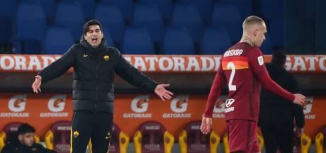 Selectie AS Roma furieus na ontslag teammanager: 'Iedereen verantwoordelijk voor zesde wissel'