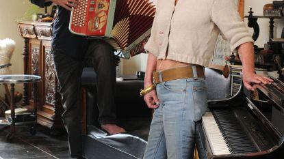 Rony Verbiest en Antje De Boeck samen op 'Café Accordeon'