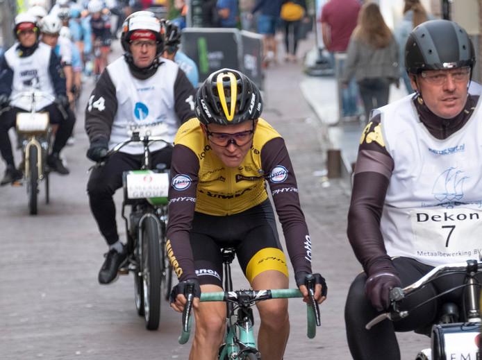 Antwan Tolhoek won vorig jaar de Wielerronde Zierikzee, die eenmalig werd omgedoopt tot dernykoers.