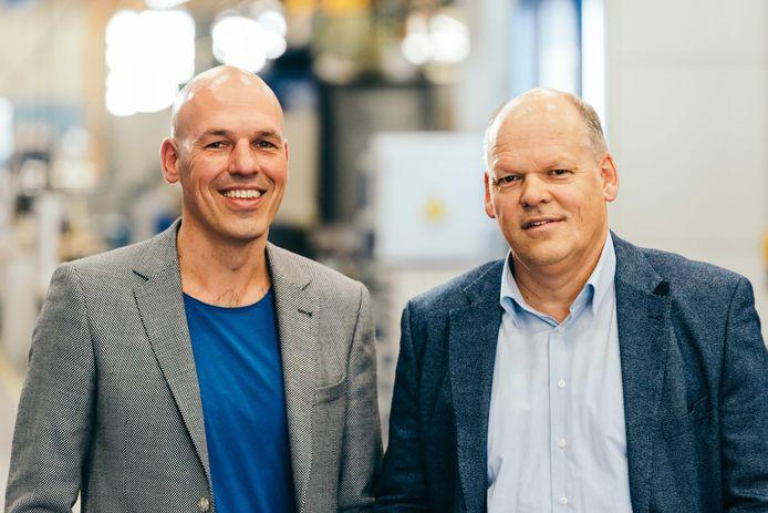 Dirk en Adam de Rooy van De Rooy slijpcentrum.