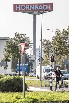 Hornbach is er al aan de skyline van Zwolle