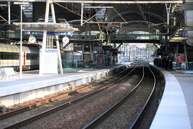 Dit weekend geen treinen tussen Leuven en Mechelen