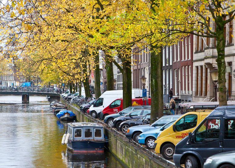 De Herengracht zonder voertuigen zou fantastisch zijn, zegt Walther Schoonenberg. Beeld Floris Lok