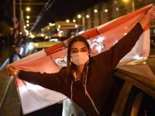 Demonstraties houden aan: 'Mensen haten Loekasjenko'