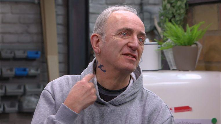 Daan Hugaert vertolkt in 'Thuis' de rol van Eddy Van Notegem.