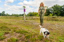 Natuurfotografen, hondenuitlaters of ruiters negeren de bordjes, constateert Koreman.