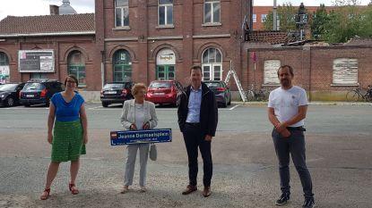 Jeanne Dormaels krijgt eigen plein aan station