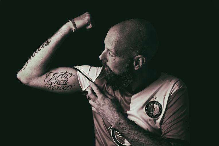 Facta non verba - geen woorden, maar daden. Beeld Boek Feyenoord Forever