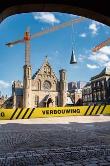 Fikse tegenvaller voor kabinet: renovatie Binnenhof jaar uitgesteld