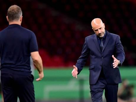 Bosz maakt spelers geen verwijten: 'Hoe ploeg deze weken presteert is buitengewoon'