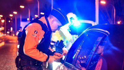 Politie betrapt hardleerse chauffeur twee keer onder invloed op één nacht: wagen geïmmobiliseerd