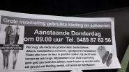 "Illegale textielophaling gepland vandaag in Temse: ""Alleen intercommunale MIWA mag textiel inzamelen op grondgebied"""